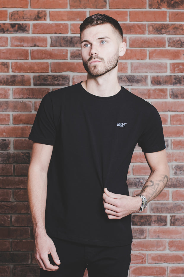 WANT Embroidered T-shirt
