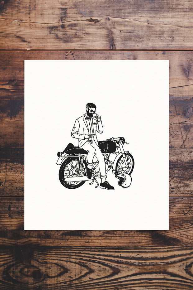 Ride Dapper Giclée Print