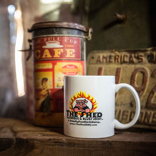 The Shed BBQ Coffee Cup