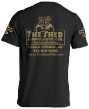 Load image into Gallery viewer, The Shed BBQ Who Dat Tee