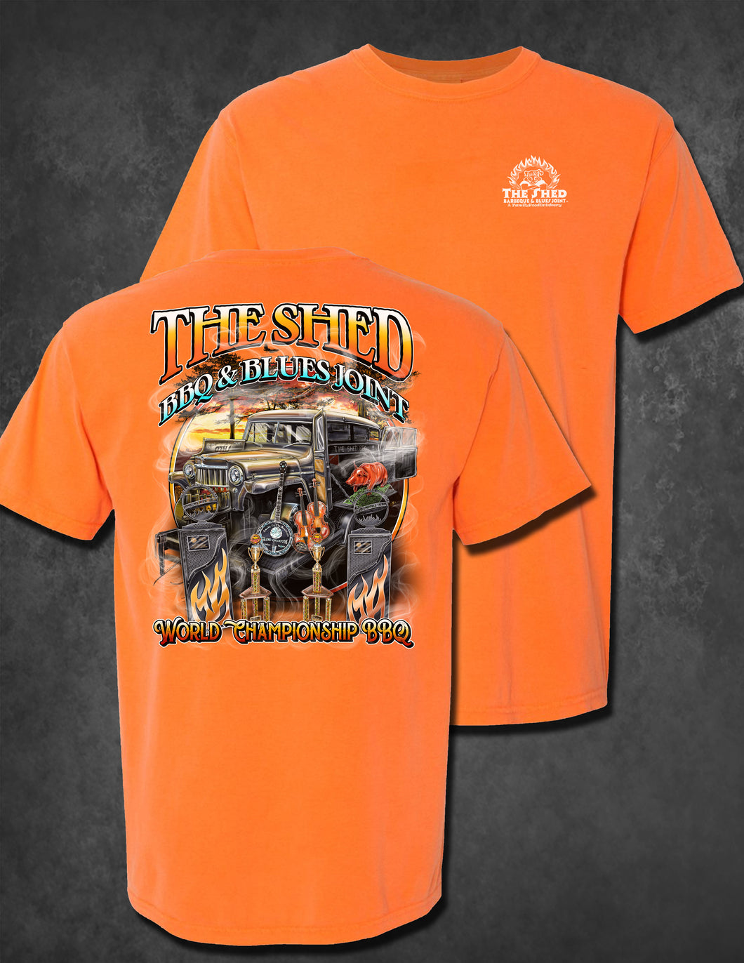 The Shed Competition Shirt