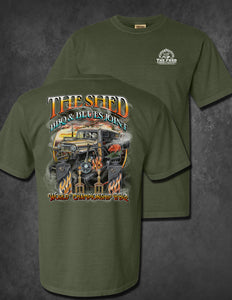 The Shed Competition Shirts
