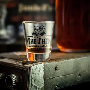 The Shed BBQ Shot Glass