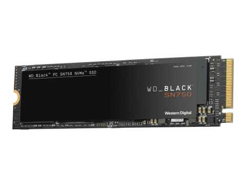 SSD WD Black 500GB SN750 High Performance NVME M.2 PCI Express Gen3 x4 auf Galandis.com