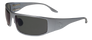 Fugitive Motorcycle GunMetal frame with Polarized Gray lenses