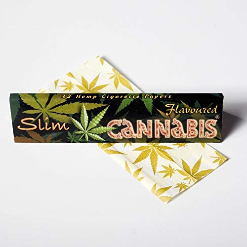 Cannabis Flavoured QUEEN Size Slim Rolling Paper