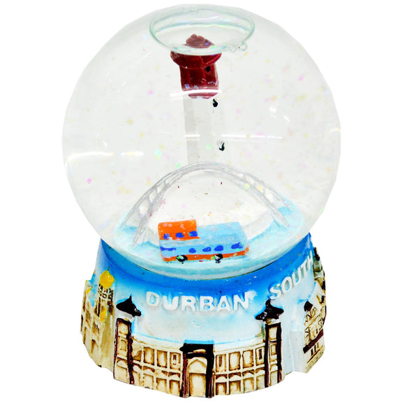 Durban Light Up Snow Globe