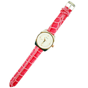 Diva Ladies Leather Strap watches.