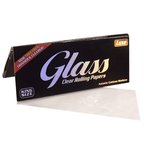 Glass Clear Rolling Paper King Size