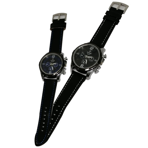 Initial Gents 5CM Modern Design Resin Strap Watch