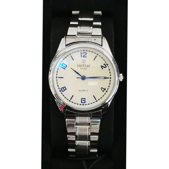 Initials Gents 4cm/ Ladies 3cm Morden Design Metal Watch