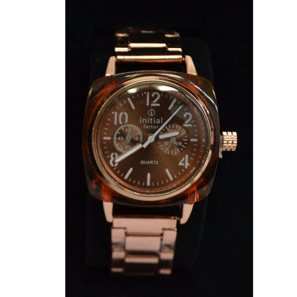 Initials Gents & Ladies Morden Design Metal Watch