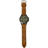 Initial leather strap watches