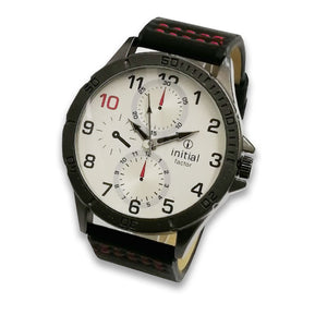 Initials Gents 4cm Morden Design Metal Face Watch