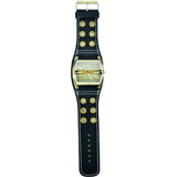 JUSTIN Gents 5cm Leather strap Watch