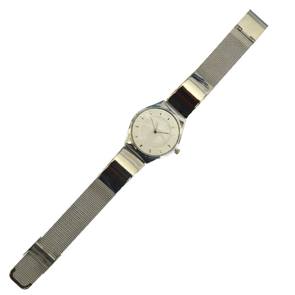 Initials Gents & Ladies Morden Classic Design Metal Watch