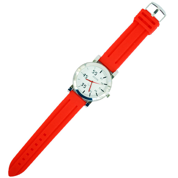 JUSTIN Gents 5cm Resin strap Watch