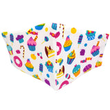 Kiddies Zoo Print Material Face Mask