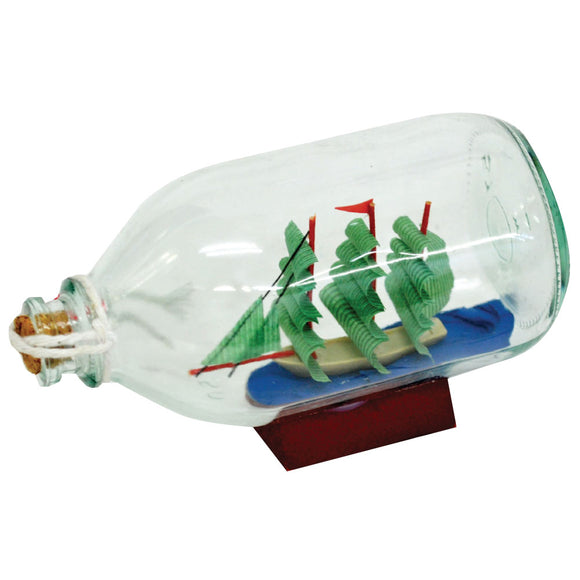 Glass Ship In Bottle