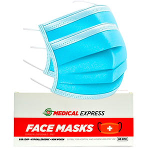 3 PLY SURGICAL MASK BOX OF 50