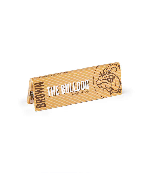 The Bulldog King Size Slim Unbleached Paper