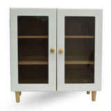 Mini Wooden Cupboard 1 Door, 2 Drawer Vanity