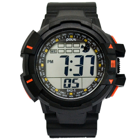 Polit Water Resistant Digital Watch