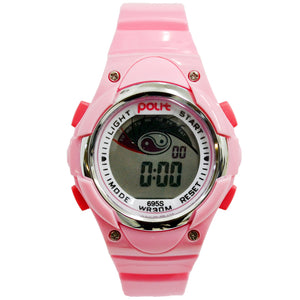 Kids Polit Digital Water Resistant Watch