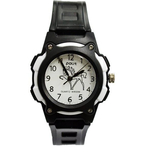 Kids Polit Analog Water Resistant Watch