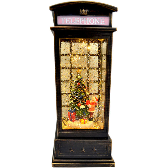 Christmas Booth Lantern With Christmas Tree