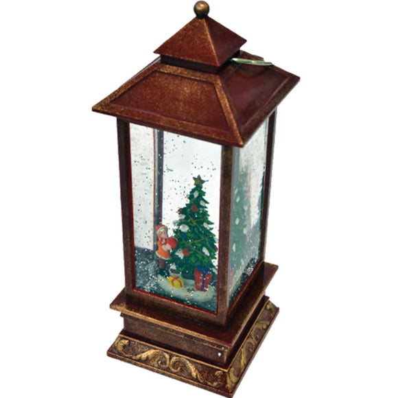 Christmas Tree - Light Up Lantern