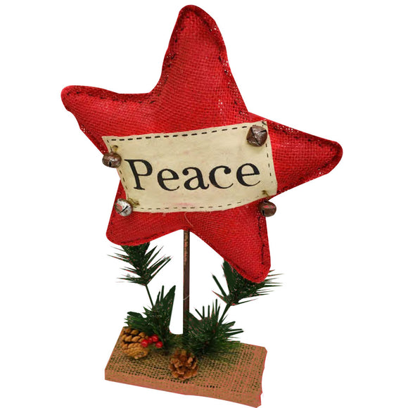 Christmas Peace Star Stand