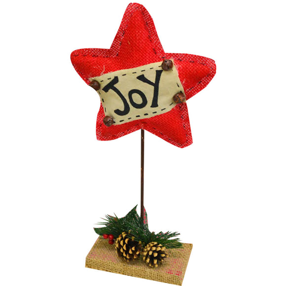 Christmas Joy Star Stand