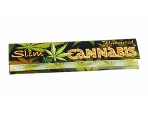 Cannabis Flavoured King Size Slim Rolling Paper