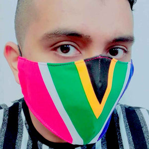 South African Material Face Mask