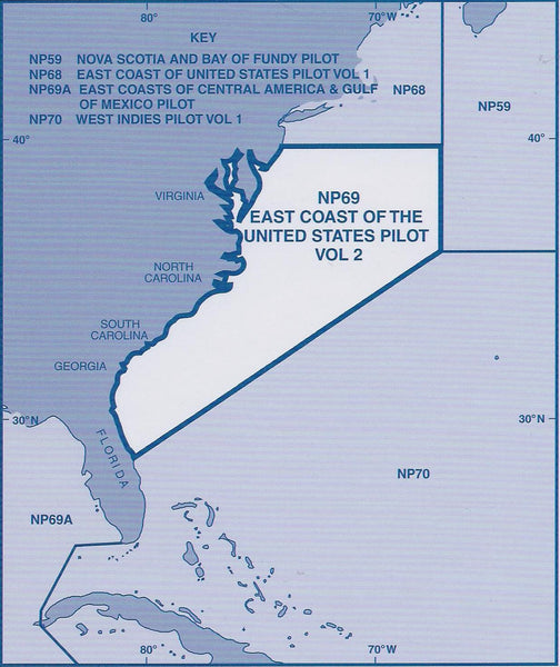Admiralty Sailing Directions East Coast Of The United States - East coast of united states