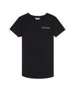 Blades Patch Utility Grand Crew Neck Long Pocket Black & Mud T-Shirt