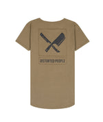 Blades Patch Utility Grand Crew Neck Long Pocket Olive & Black T-shirt