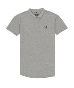 Premium Melange Men's Grey Polo Shirt