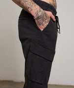 Classic Washed Black Cargo Pants