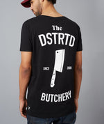 The Dstrd Butchery Grand Crew Neck Black & White T-Shirt
