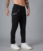 Classic Strapped Tech Black & Black Chino Jogger