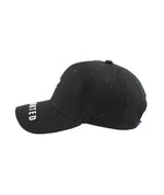 Distorted One Inch Blades Black & White Dad Cap