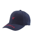 Distorted One Inch Blades Navy & Red Dad Cap