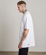 Heavy White Grand Crew Neck T-Shirt