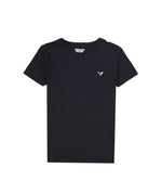 Classic Grand Crew Neck Black Pocket T-Shirt