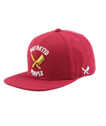 Team Red, White & Gold Snapback Cap