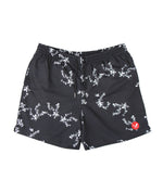 Core Floral Navy Swim Shorts