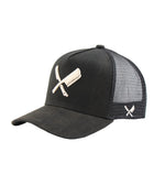 BB Blades Broken Black & Sand Trucker Cap