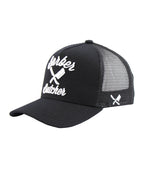 BB Blades Black & White Trucker Cap